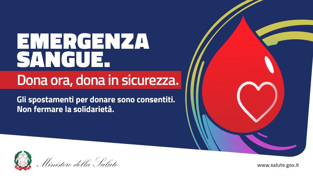 Campagna pro talassemia Gonnosnò 4 Aprile 2020